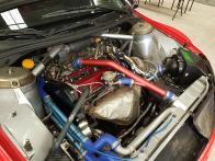 WRC Lancer engine | image: unknown