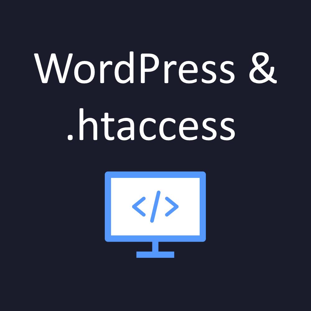 wordpress htaccess defaults and edits