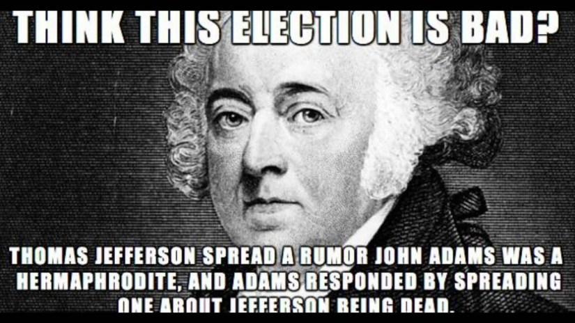 Image result for thomas jefferson was terrible