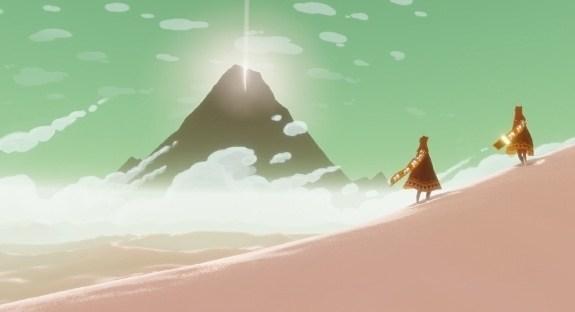 journey game screenshot music