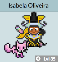 habitica avatar and fox pet