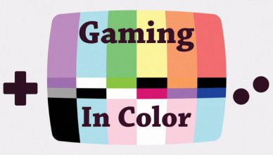 gaming in color documentary logo
