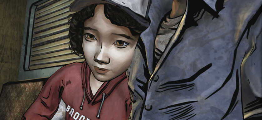young clementine from the walking dead video game