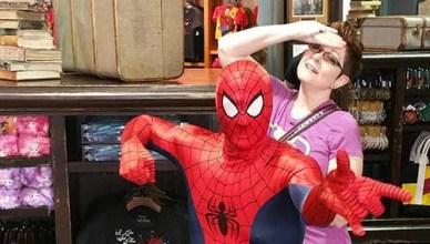 spiderman at universal studios