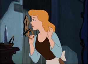 Cinderella 1950 locked door