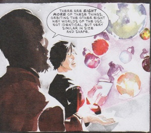 Descender issue 1 March 2015 page 8 Dr Quon and the megacosm