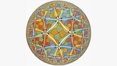 mc escher circle limit iii