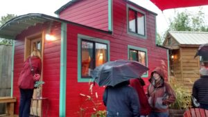 The Caboose tiny house at Caravan The Tiny House Hotel