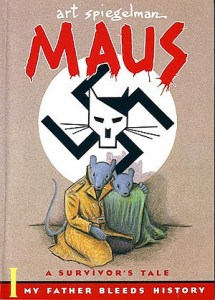 """Maus,"" an example of a graphic novel."