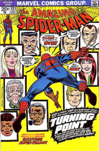 """The Amazing Spiderman,"" Issue 121, Marvel Comics, June 1973"