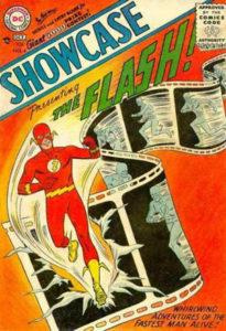"""Showcase,"" issue 4, Oct 1956, DC Comics"