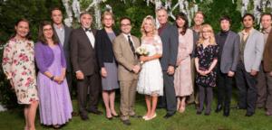 Season 10 Leonard and Penny's second wedding