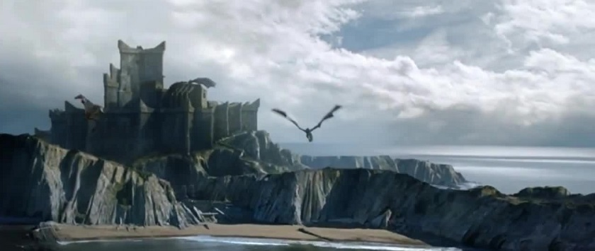game of thrones dragons dragonstone