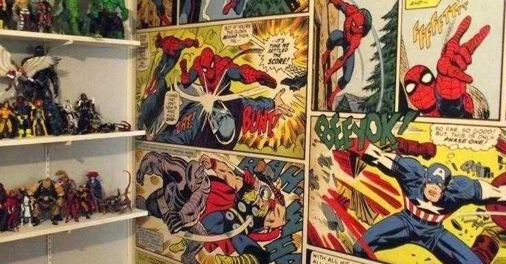 comics display