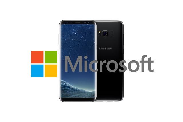 Galaxy S8 Mocrosoft