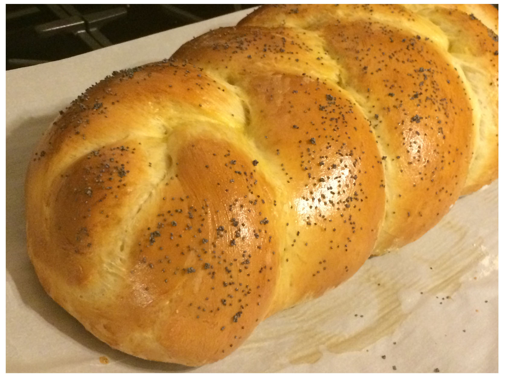 Using a Bread Machine to Start Challah Bread