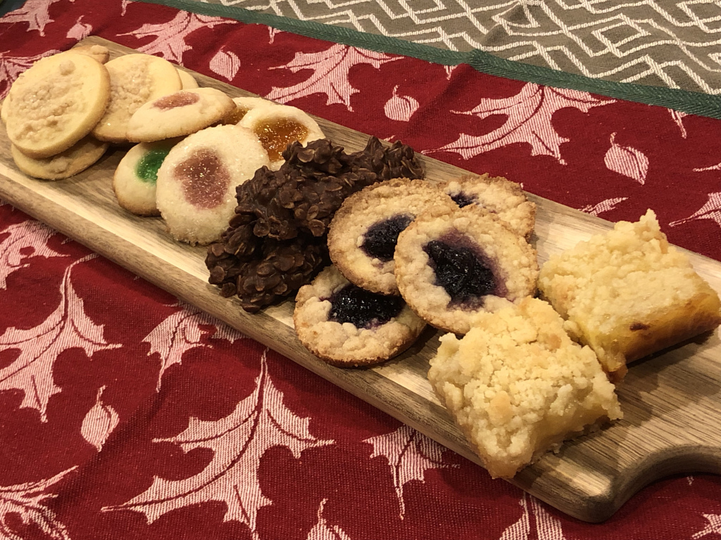 2019 Christmas Cookie Smorgasbord