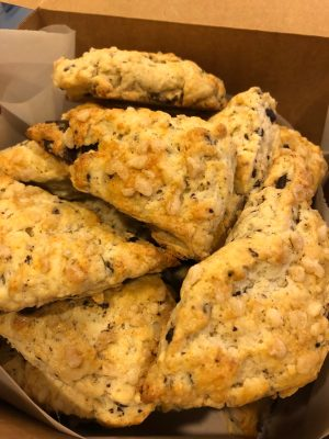 Read more about the article A Scone Redo: Ginger-Cardamom Scones with Cocoa Nib Chocolate