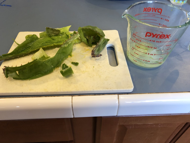 Sliced Aloe