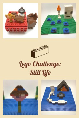 LEGO Challenge: Build A Still Life