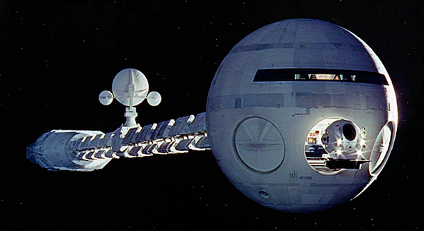 2001 A Space Odyssey's Discovery One