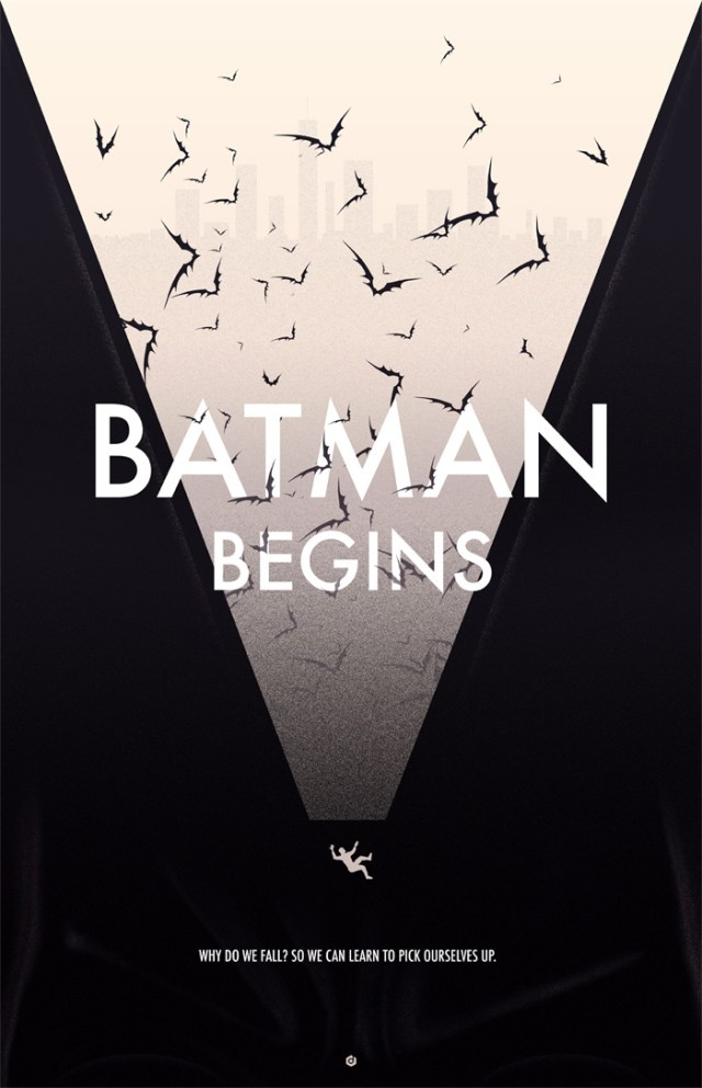 Batman Begins poster by Doaly