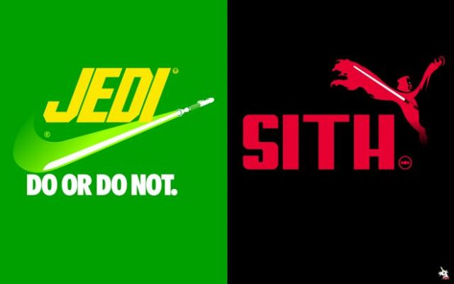 Brand Wars Jedi and Sith