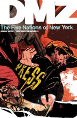 DMZ The Five Nations of New York cover