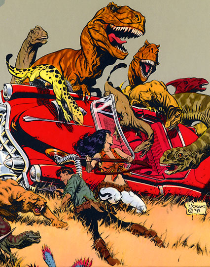 Dinosaurs attack by Mark Schultz