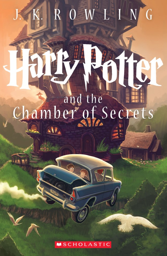 'Harry Potter and the chamber of secrets' cover by Kazu Kibuishi