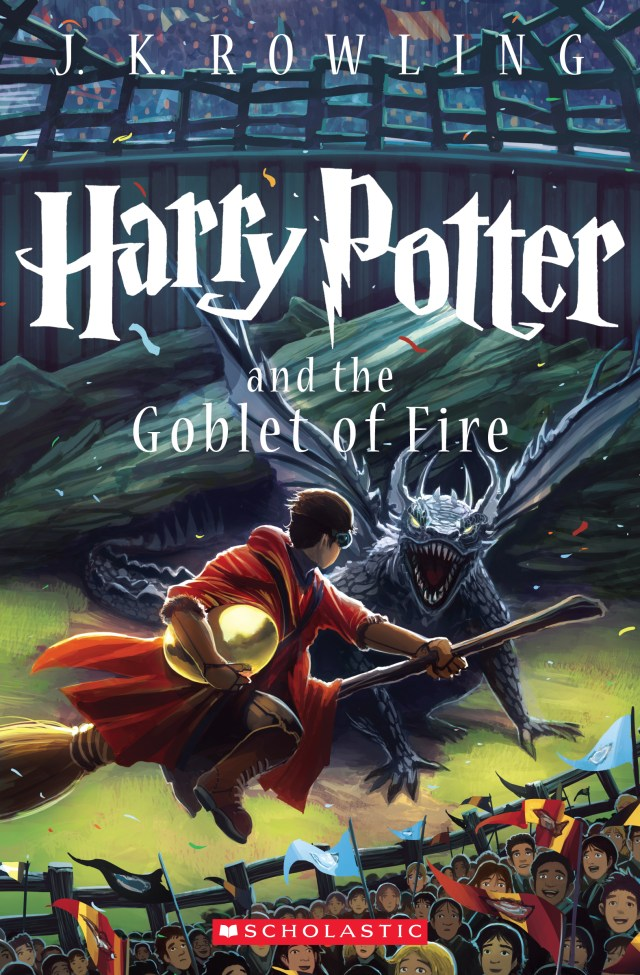 'Harry Potter and the goblet of fire' cover by Kazu Kibuishi