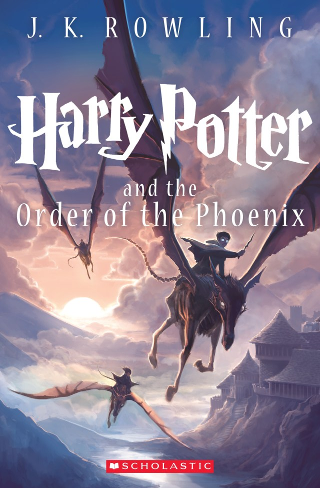 'Harry Potter and the order of the phoenix' cover by Kazu Kibuishi