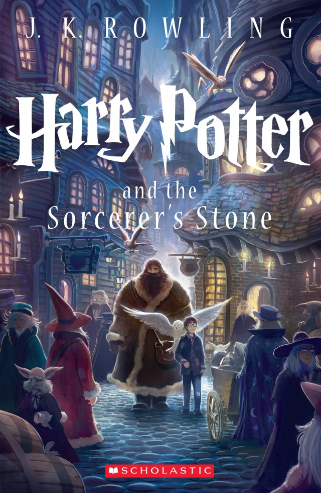 'Harry Potter and the sorcerer's stone' cover by Kazu Kibuishi