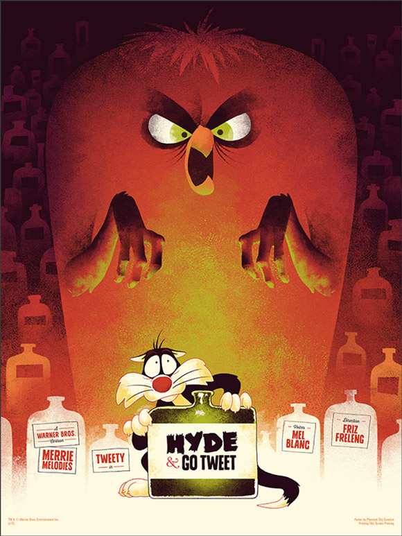Hyde and go tweet by Tom Whalen