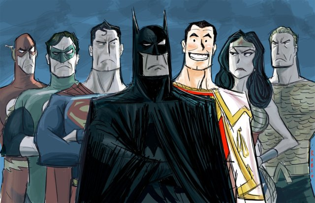 Justice League by Bobby Rubio