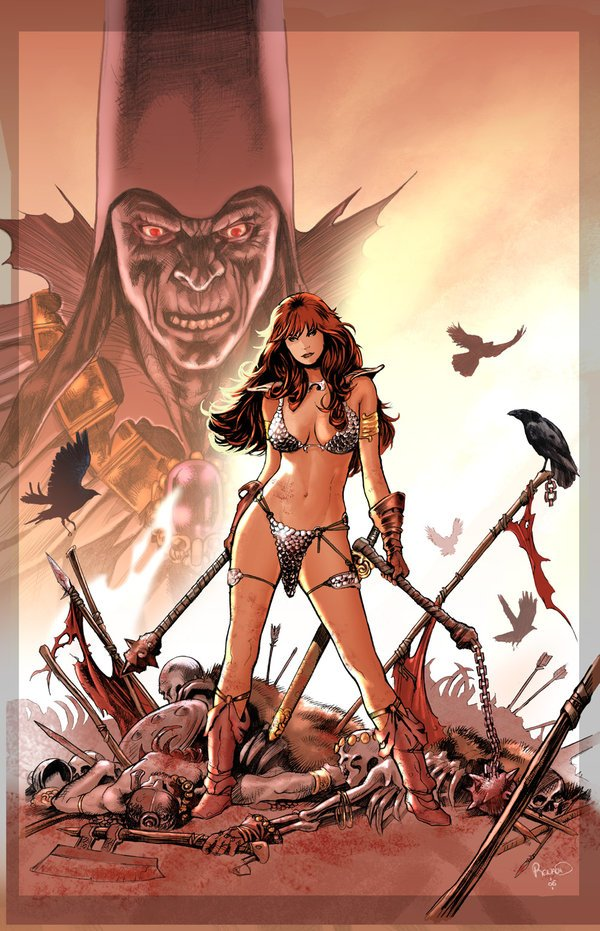 Red Sonja by David Londono