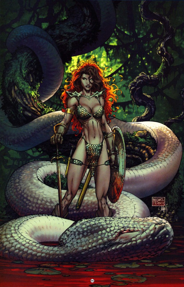 Red Sonja by Michael Turner