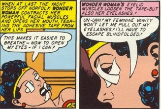 Sexist Wonder Woman panel