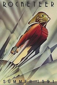 The Rocketeer Summer 1991 poster
