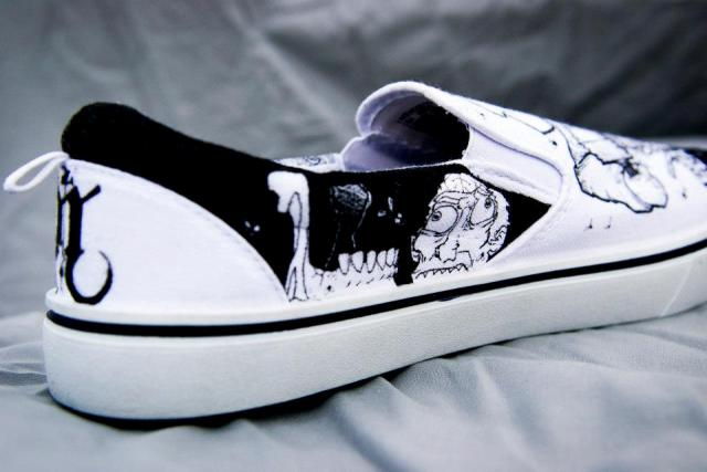 Zombie Chef Designer Shoes by Nick Forte - Chef Inside