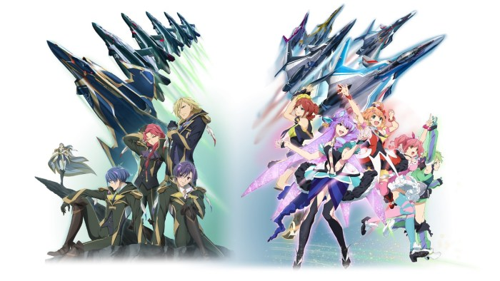 To the left, our mysterious Aerial Knights, and to the right, the entrancing Walkure. Round 1 - Fight!