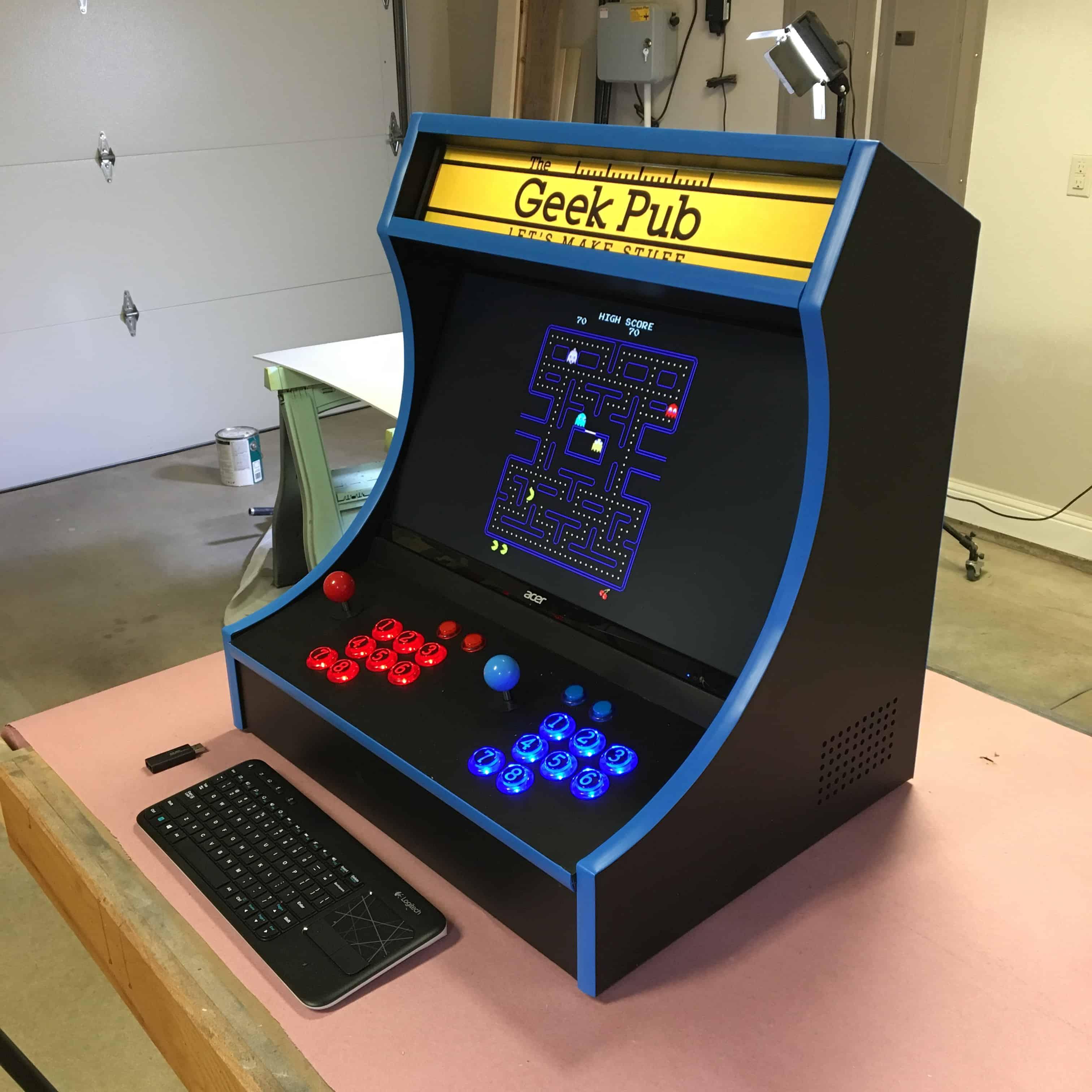 Bartop Arcade Cabinet Template | Savae.org