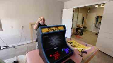 RetroPie Bartop Arcade Cabinet 0069