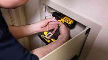 Install a Hidden Wall Safe 0009