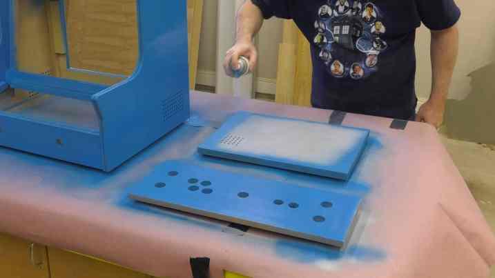Pacade RetroPie Bartop Arcade Cabinet Build - 0029