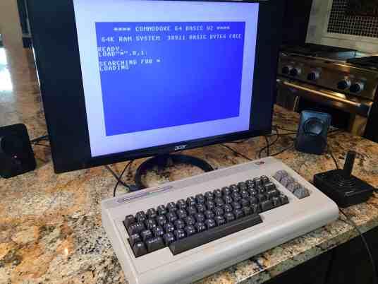 Raspberry Pi Commodore 64 0001 - Basic Screen