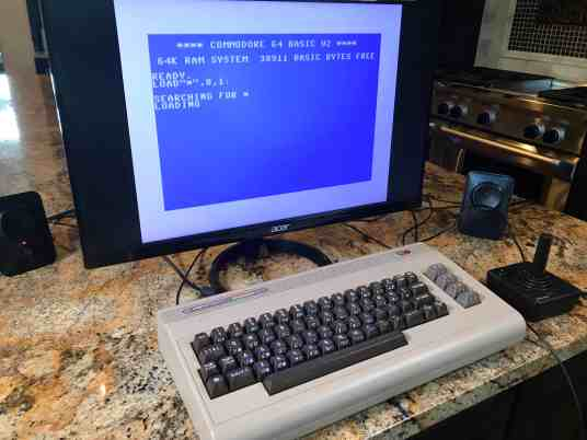 Raspberry Pi Commodore 64 0001 - Basic Screen