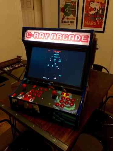 C-Ray customer arcade