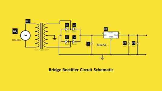 Bridge Rectifier Circuit Schematic
