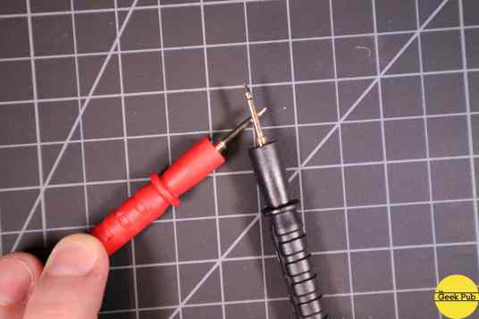 checking continuity with a multimeter